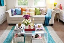 decorating ideas and rooms / by Sharon Graham