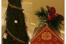 Christmas decor DIY, tutorials. / Handmade Christmas Trees, ornaments and more. Tutorials
