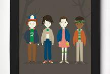 Posters Meu Adorável Iglu / Ilustrações autorais para deixar as casas por aí com uma decoração ainda mais adorável