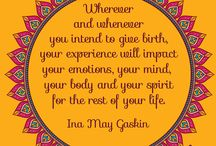 Favourite Joy of Birth Quotes / Inspiring Quotes for Pregnant, Birthing and Lactating Super Mamas!