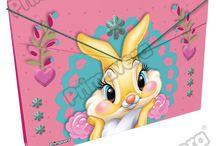 Carpetas Miss Bunny / Línea Escolar Primavera Regresa a Clases con TODO