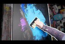 Acrylic  speedart demo
