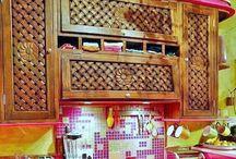 Extraordinary Furniture / Carved Furniture/Bohemian/Flamboyant
