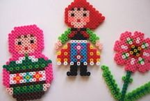 Hama / Creative things to make with Hama beads- because I have a lot!