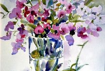 Water-color Flowers