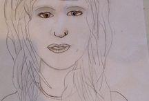 My Drawings of People / My drawings of people. -Ellie
