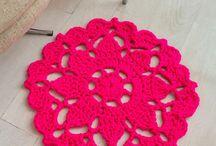 Crochet homeware