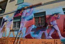 Murales a Ostia