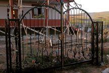 Dekoratif bahçe kapıları / Özel tasarım kapı modelleri Özel siparişleriniz alınır.