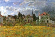Живопись.Claude Monet / Шедевры мировой живописи.Claude Monet.