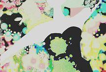 """Ann Beathe Schaanning / Frihånd og fargeblyanter """"Handmade colorpencil Drawing"""""""