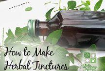 Herbal tintures