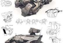Concept Art - Vehicles