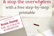 Printables, Checklists, and Workbooks