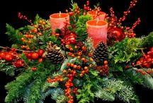 kerstgroendecoraties