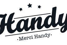 Geles desinfectantes de manos Merçi Handy