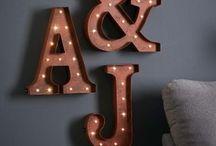 lit letters
