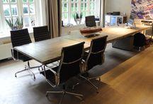 vergader ruimte tafel