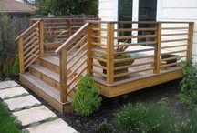 Deck railings