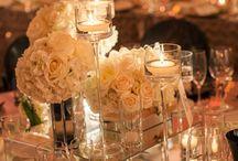 Centros de Mesa - Bodas / Arreglos florales para bodas.