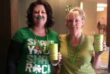 St. Patrick's Day at Plastic Surgery Texas / We challenged the office to have a bit 'o St. Patrick's Day fun.  The winner received a $25 Starbucks Gift Card.  Who do you think won?