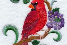 Bird Embroidery Designs