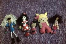 muñecos en fieltro y demas / Muñecas que hago..a mano creación propia