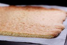 génoises, gâteaux roulés