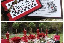 Matrimonio tema Alice nel paese delle meraviglie / Alice in wonderland wedding / Un matrimonio a tema fiabesco/ Alice in wonderland wedding ideas