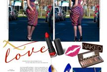 ZANJOO POLYVORE SETS / zanjoo african wax print womens wear, polyvore sets, ideas how to wear colourful bold prints, womens fashion,
