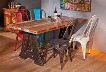 Keittiöpöydät ja tuolit