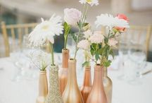 Gold and rose party