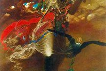 Beksiński tak malował jak każdy z nas mówi, je i pije, w sposób naturalny / W rocznicę urodzin i tragicznej śmierci Zdzisława Beksińskiego z Piotrem Dmochowskim, przyjacielem, marchandem i promotorem jego twórczości rozmawia Tomasz Wybranowski. http://artimperium.pl/wiadomosci/pokaz/190,beksinski-tak-malowal-jak-kazdy-z-nas-mowi-je-i-pije-w-sposob-naturalny#.UxcVF_l5OSo