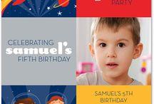 Children's Invitations - Boy