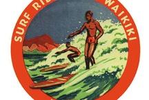 서핑 빈티지 그리ㅁ