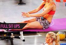 Arm, skulder og ryg træning