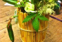Workshops bloem/groendecoratie / Gegeven in Atelier Natuurschatten
