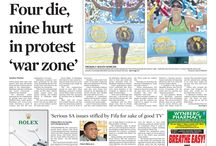 Front pages - June 2015