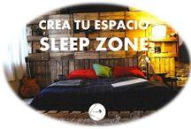 Crea tu espacio #SleepZone / Queremos ver ese rinconcito donde descansas, ese lugar especial decorado por tí, queremos darte ideas, queremos compartir, ¿y tú, nos enseñas tu #SleepZone ?