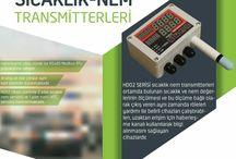 Sıcaklık Nem Transmitterleri