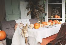 Thanksgiving Tablescape / by Angela Richards