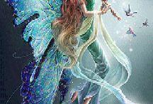 Fantasia - Land / die Welt der Träume..... Engel - Elfen - Einhörner