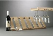 wine glass rack / by Debi Ewalt