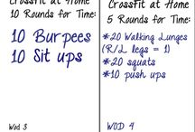 WODS / Crossfit at home workout of the day
