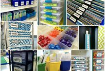 """Classroom Organization / Are you looking for ways to organize your classroom?  Check out these pins for some """"pinspiration""""!"""