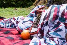 Picnic Blankets / Stylish picnic blankets for the park, beach, or stadium.