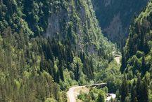 горы и дорога