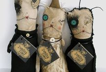 Voodoo Dolls & Freaky Stuff / voodoo, magic, death ...things that are creepy or disturbing but in a cute way. :D