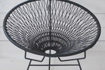[home] wire chair