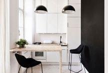 Compact wonen / Kleine ruimtes, verschuifbare wanden, kleine ruimte goed benutten, enz